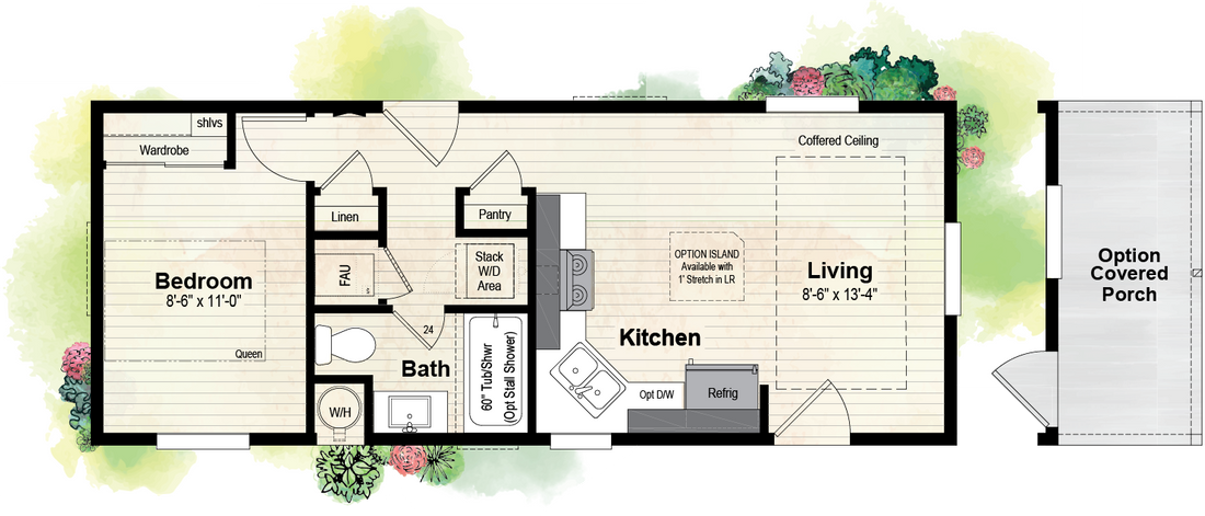 The GPII 1436-1B PISMO Floor Plan