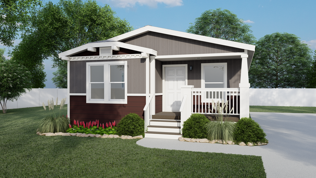 The GPII-2456-2B  GOLDEN CLASSIC Exterior. This Manufactured Mobile Home features 2 bedrooms and 2 baths.