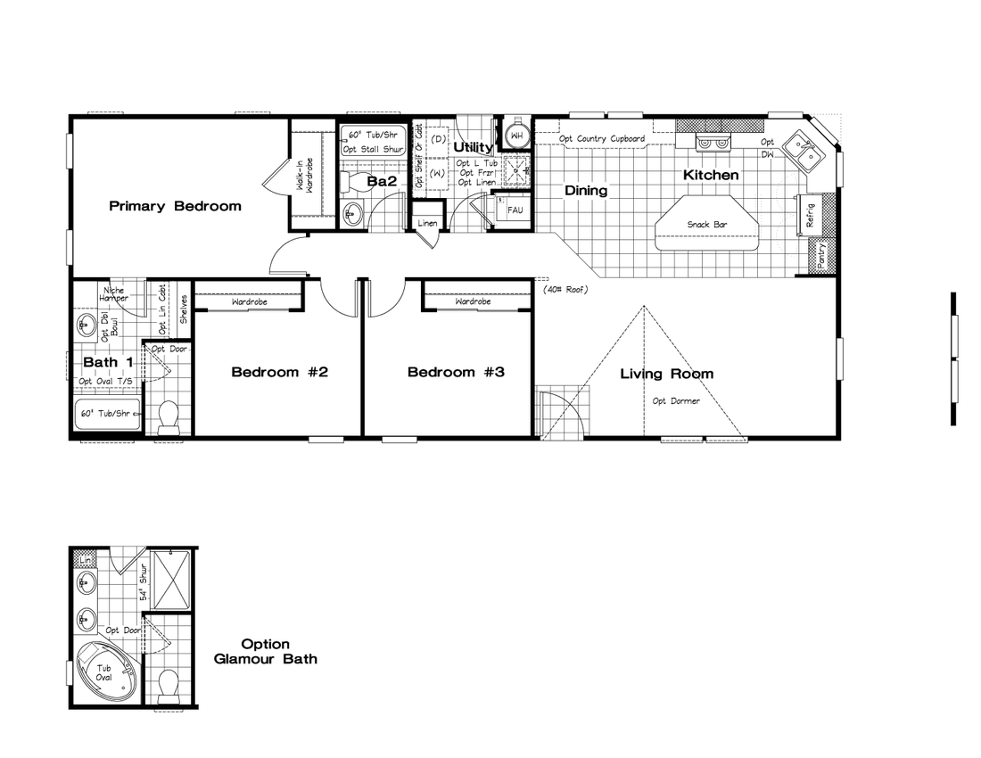 The CK562A Floor Plan